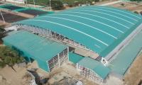 Coliseo Mayor, escenario del baloncesto en los Bolivarianos