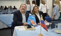 Miembros de la Misión venezolana