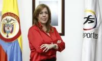 Clara Luz Roldán, directora de Coldeportes