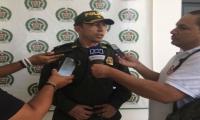 Coronel Gustavo Berdugo, comandante de la Policía Metropolitana.