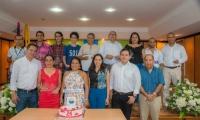 El Programa de Ingeniería de Sistemas conmemoró 24 años de creación con la presencia de sus estudiantes, docentes y egresados.