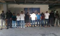 La organización fue descubierta en operativo conjunto entre la Fiscalía y la Armada.