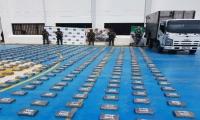 Ejército y Policía incautan 498 kilos de clorhidrato de cocaína en Albania, La Guajira