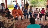 Autoridades realizaron un Consejo Departamental de Gestión del Riesgo de Desastres.