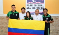 Cienagueros representarán a Colombia en competencia de Taekwondo en México