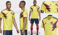 Está sería la indumentaria de la Selección Colombia en Rusia 2018.