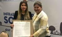 La alcaldesa recibió el convenio firmado por el Departamento Nacional de Prosperidad Social (DPS), por orden de 3.751 millones de pesos.