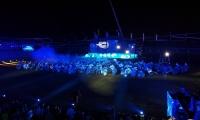 Panorámica del evento de inauguración de los Juegos Bolivarianos.