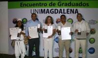 Se hizo entrega de reconocimiento distinción 'Gaviota Dorada', a seis graduados destacados por su calidad humana, académica, y profesional en el ejercicio de sus actividades.