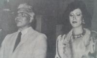 Rodrigo Ahumada Bado, en una fotografía de archivo, acompañado de su esposa, María Cristina.