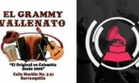 Este es el signo de El Grammy Vallenato y el logo de los Latin Grammy.