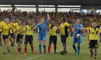 Selección Colombia femenina sub 20, campeona de los Juegos Bolivarianos.