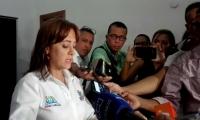 Jimena Abril De Angelis, alcaldesa encargada de Santa Marta.