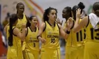 Selección Colombia femenina de baloncesto, campeón de los Juegos Bolivarianos.