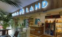 Yoga Land ubicado en el Centro Comercial Prado Plaza, en la carrera 4 No 26 – 40.