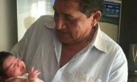 Poncho Zuleta publicó las fotos de sus nietas.