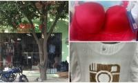 Hasta ropa interior, y de esta calidad, se ofrece en El Manicomio a los empleados para su dotación.