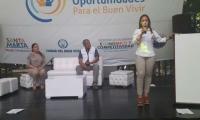 Jimena Abril, Alcaldesa encargada.