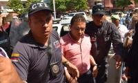 Rafael Martínez, alcalde suspendido de Santa Marta.