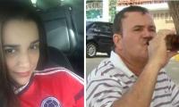 Leonor Cárdenas Sánchez, la víctima y el concejal, Francisco Salazar Amaris el agresor.