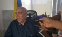Director de la Fiscalía en el Magdalena, Vicente Guzmán Herrera.