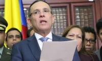 Efraín Cepeda, presidente del Senado.
