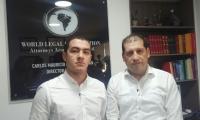 Diego Duque y Mauricio Ramírez, abogados defensores.