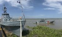 Armada Nacional refuerza seguridad en el río Magdalena.