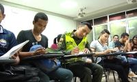 Policía, estudiante de la Universidad del Magdalena.