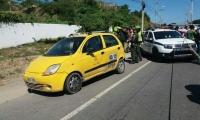 El taxista fue asesinado en inmediaciones del motel La Gaviota, en la Troncal.
