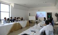 La academia, la empresa y el Estado unen esfuerzos a través de un grupo focal que contó con la participación del profesor argentino, Rodolfo Stanislav, experto internacional en Planeación Estratégica y consultor asesor del Centro de Desarrollo Estratégico Urbano- CIDEU.