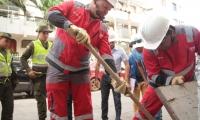 Realizaran la recolección de aguas residuales del edificio Karey, con un camión succión-presión tres veces al día: a las 8:00 y las 11:00 de la mañana y las 5:00 de la tarde.