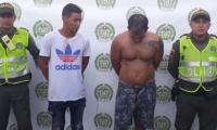 """Rafael Avendaño Martínez, alias """"Cabezeza de Lancha"""" y  Jhan Carlos Osorio Castro."""