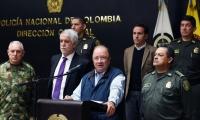 El ministro de Defensa de Colombia, Luis Carlos Villegas.