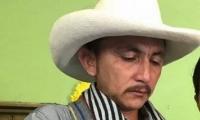 Samuel Moreno, padre de la víctima y del confeso asesino.