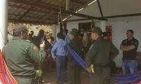 La Policía inspeccionó la casa de Playa Rosita, donde ocurrió el atraco y al violación.