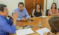 El encuentro fue liderado por el rector de la Universidad del Magdalena, Pablo Vera Salazar.