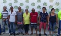 Las autoridades informaron que entre los capturados se encuentran 4 sindicados por sicariato.