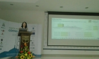 La directora del programa, Verónica Trujillo, fue la encargada de explicar los resultados de la encuesta.