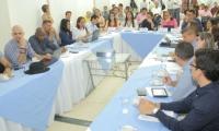 Mesa de trabajo de empalme de Metroagua, Alcaldía y demás entidades.