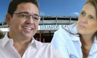 Rafael Martínez y Rosa Cotes se enfrentan por la demolición del Eduardo Santos.