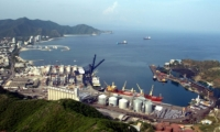 Panorámica del Puerto de Santa Marta.