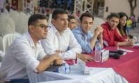 Los candidatos estudiantiles al Consejo Superior de la Unimagdalena.