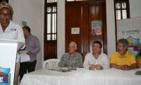La Jefa de la Oficina de Cultura Matilde Ester Maestre fue la encargada de dar las palabras de bienvenida al evento.