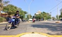 El semáforo fue instalado y entró en funcionamiento este fin de semana.