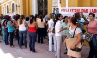Los maestros protestarán este miércoles en las puertas de la Alcaldía de Santa Marta.