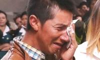 Juvencio Samboní después de enterarse de la condena al asesino de su hija.