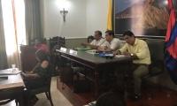 El rector Pablo Vera asistió a la Asamblea del Magdalena, este miércoles.