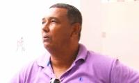 Luis Jesús Muñoz Díaz Granados, taxista afectado.