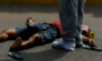 Luis Vergara López quedó a 50 metros de la tractomula en la que se accidentó.